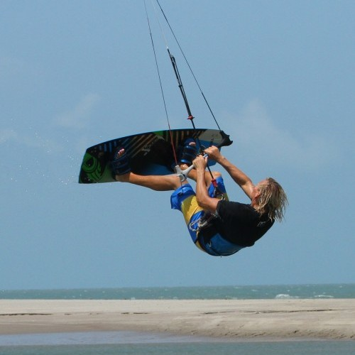 Double Back Loop Transition Kitesurfing Technique