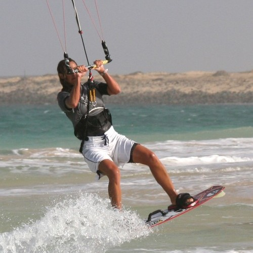 Air Gybe Kitesurfing Technique