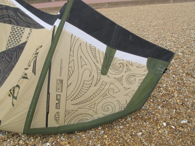 F-ONE Kiteboarding Bandit 5 8m 2012 Kitesurfing Review