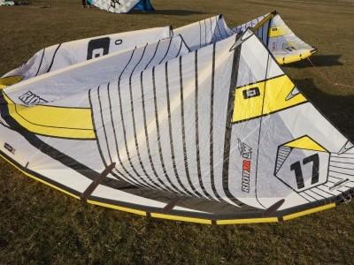 CORE Kiteboarding Riot XR3 LW 17m 2015 Kitesurfing Review