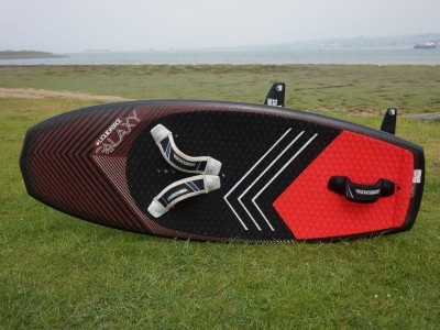 Liquid Force Kites Galaxy and Thruster Foil 4'8 2018 Kitesurfing Review