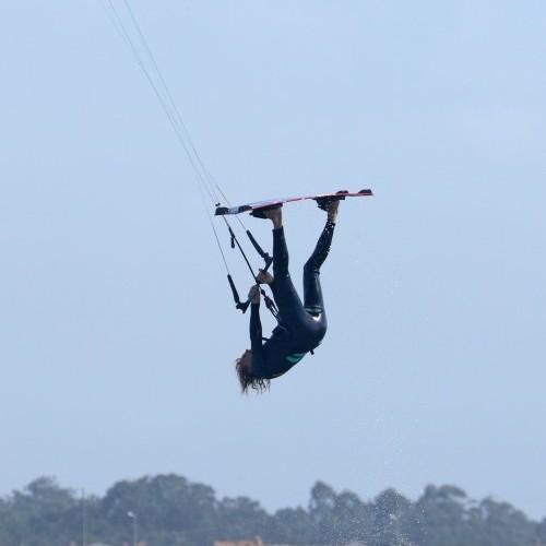 Inverted Back Roll Kitesurfing Technique