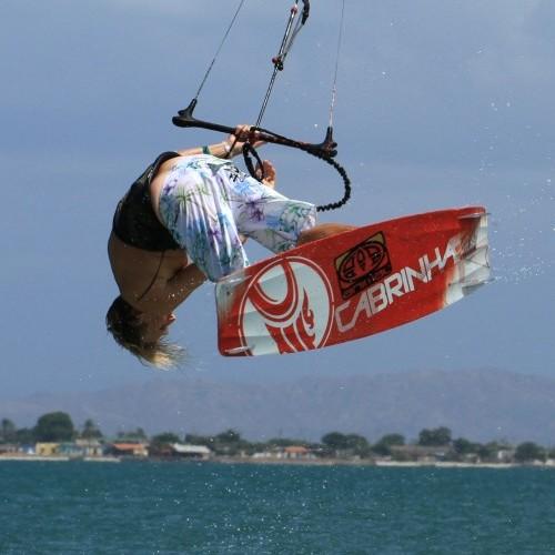 Back Mobe Kitesurfing Technique