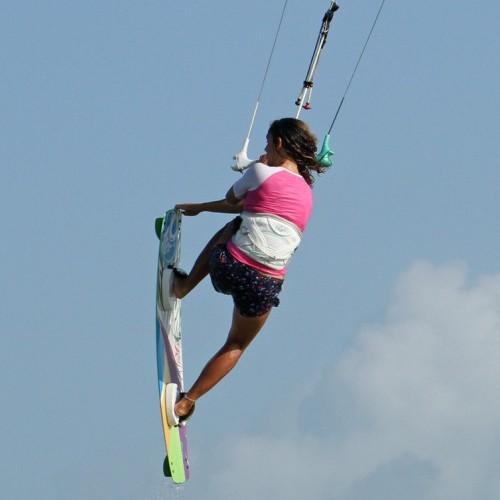 Nose Grab Jump Kitesurfing Technique