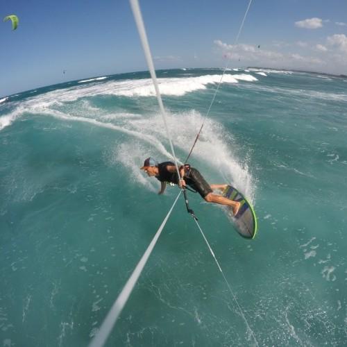 Toe Side to Heelside Turn on a Wave Kitesurfing Technique