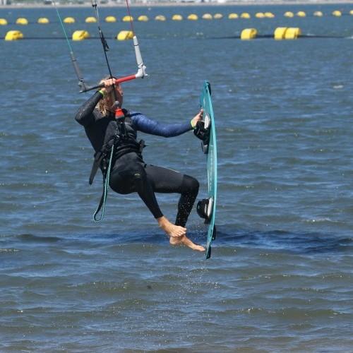Board Off Dismount Kitesurfing Technique