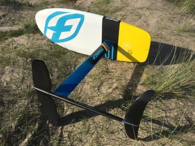 F-ONE Kiteboarding Freeride 90/800 Hybrid KiteFoil and 51 Kitefoil Board 2017 Kitesurfing Review