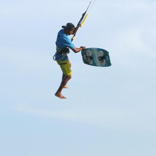 Board Off Varial Kitesurfing Technique