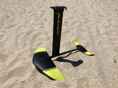 Naish Kiteboarding Surf Foil Jet 1250 Abracadabra 2020 Kitesurfing Review
