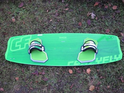 CrazyFly Shox 136 x 41cm 2014 Kitesurfing Review