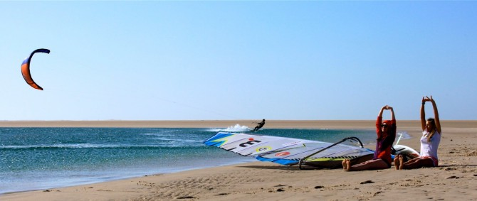 Kitesurfing News - Postcard from Dakhla – Morocco from Kirsty Jones