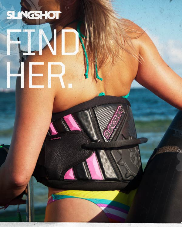 "Kitesurfing News - Slingshot ""Find Her"" Photo Contest"