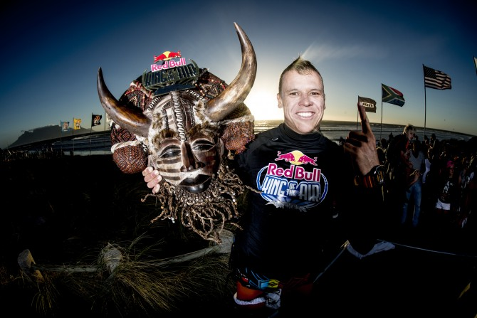 Kevin Langeree stoked to be crowned the Red Bull King Of The Air 2014!