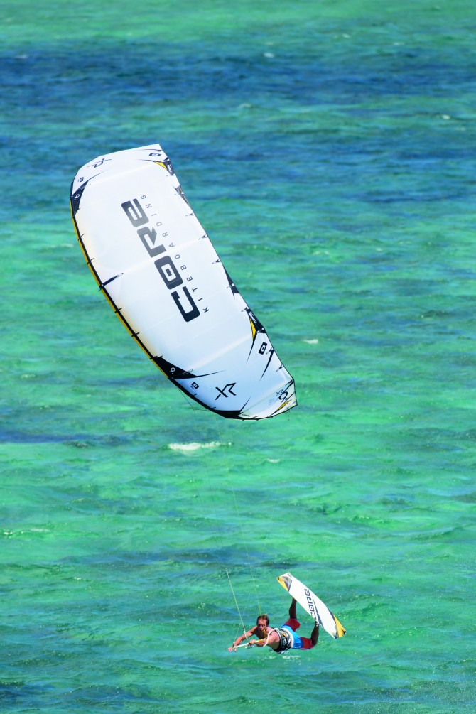 The Core XR4 is a gift to any freestyle kiter.