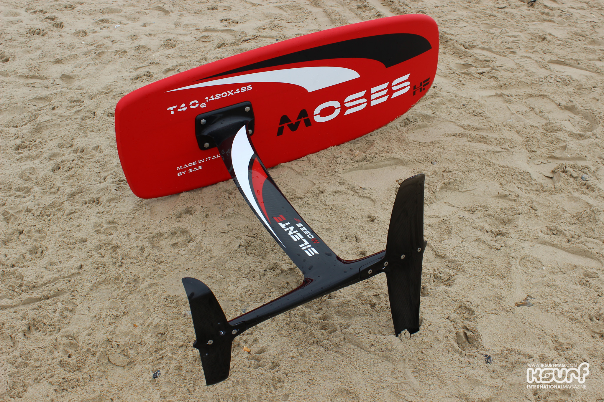 Moses Hydrofoil Silente 2016 | Kitesurfing Reviews » Boards